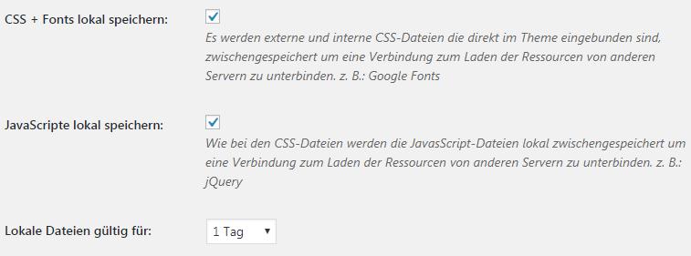 Google Fonts Lokal einbinden